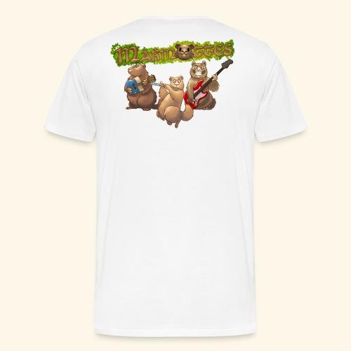 Tshirt groupe dos - T-shirt Premium Homme