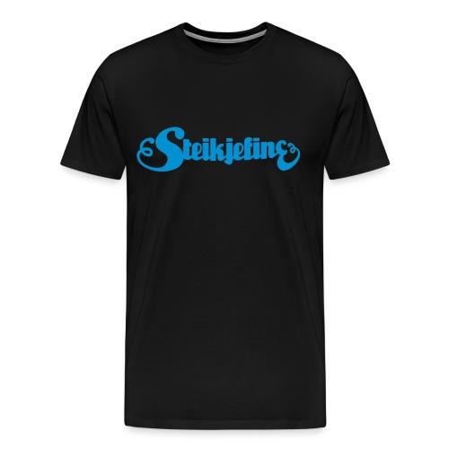 blaa - Premium T-skjorte for menn