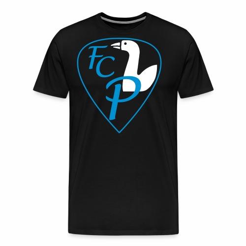 fcp logo unrisse - Männer Premium T-Shirt