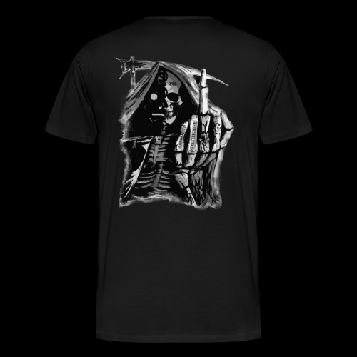 Condemned Streetfighters Reaper - Men's Premium T-Shirt