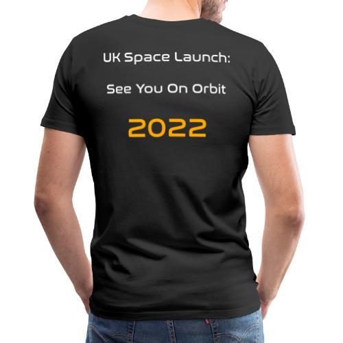 UK Space See You On Orbit - Men's Premium T-Shirt