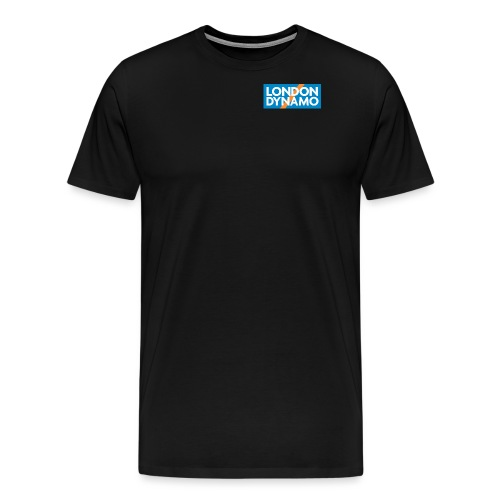 londondynamoSquare ALL jpg - Men's Premium T-Shirt