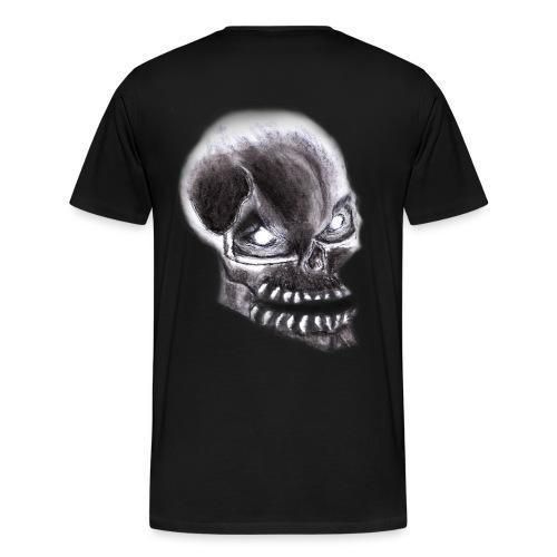 Angry skull - Männer Premium T-Shirt