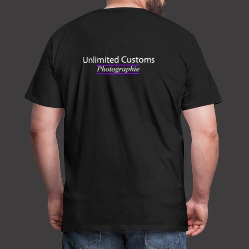 161003 Logo lilalinien ke - Männer Premium T-Shirt