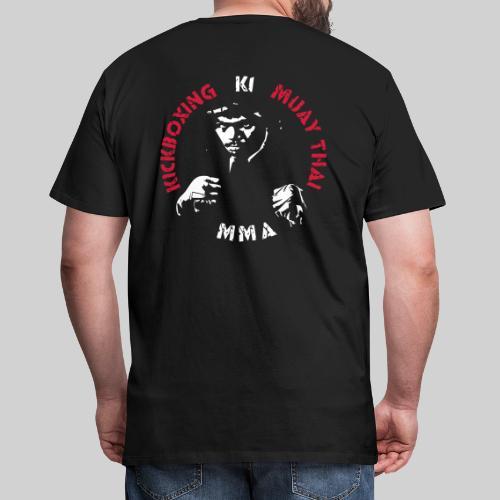 MMA Fighter Face - 2 colors - Men's Premium T-Shirt