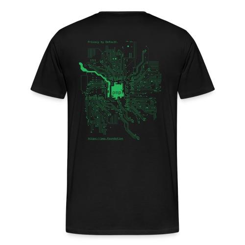 pEp-Circuit-Board-green - Männer Premium T-Shirt