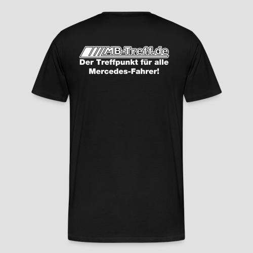 Treffpunkt flock optimiert - Männer Premium T-Shirt