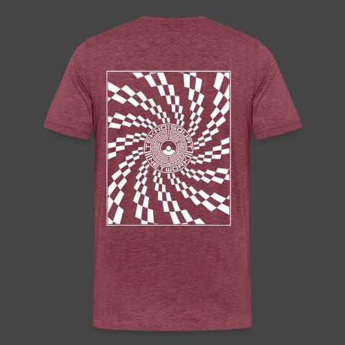 TEKNOSQUAT RÉSEAU SPIRAL - T-shirt Premium Homme