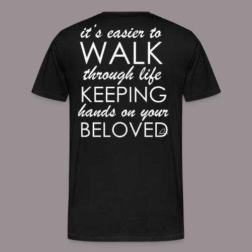 Rakkaus - Miesten premium t-paita