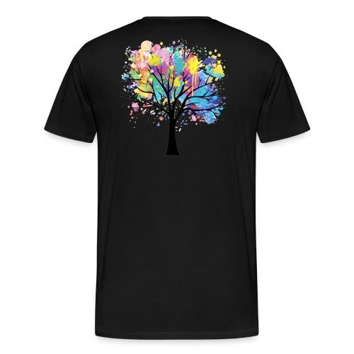 Splash Tree - T-shirt Premium Homme