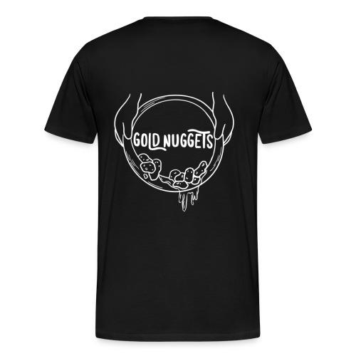 Logo mit Händen - Männer Premium T-Shirt