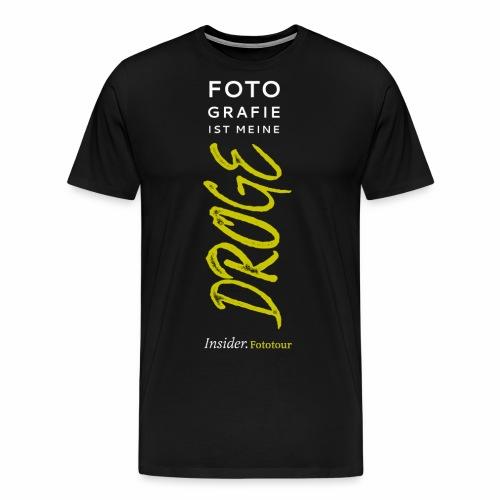 Fotodroge - Männer Premium T-Shirt