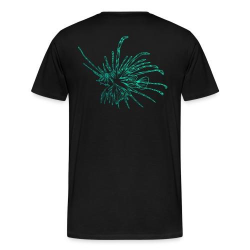 Feuerfisch Tauchen Taucher Lionfish Dive Diving - Männer Premium T-Shirt