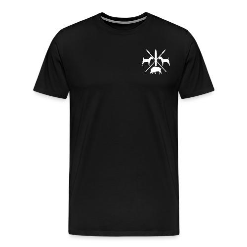 version1_weiß - Männer Premium T-Shirt
