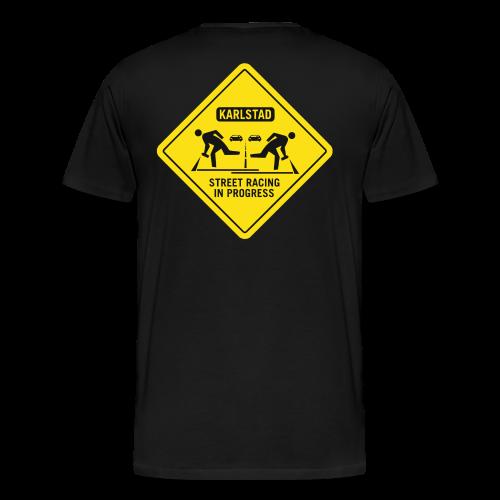 karlstad streetrace - Premium-T-shirt herr