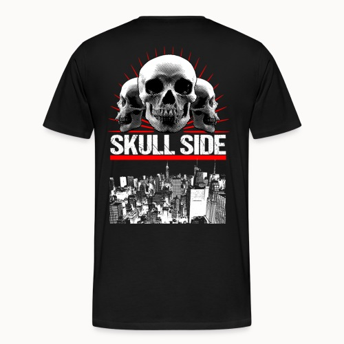 skull side city - Männer Premium T-Shirt