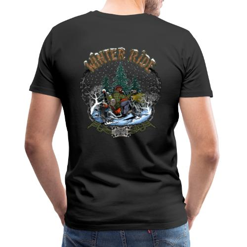 Winter ride - T-shirt Premium Homme