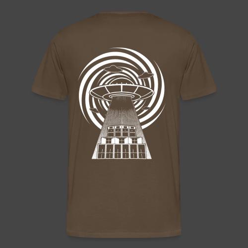 Alien Tekno 23 UFO frameless - Maglietta Premium da uomo