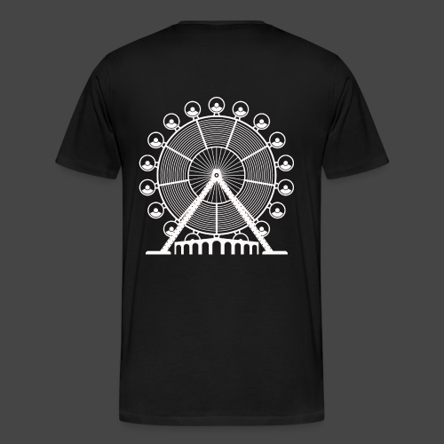tekno, 23, roue, roue - T-shirt Premium Homme