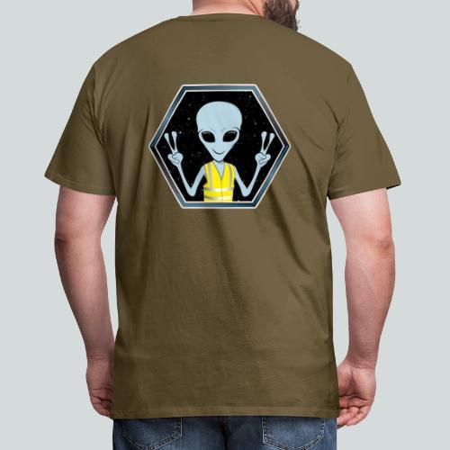 Extraterrestre Gilet jaune - T-shirt Premium Homme