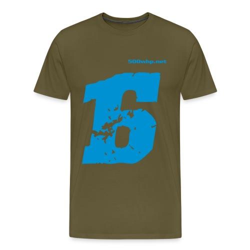 logo 5cm - Miesten premium t-paita