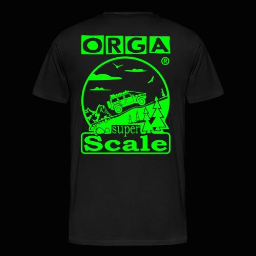 superScale® - ORGA - Männer Premium T-Shirt
