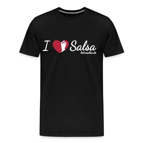 i love salsa - Männer Premium T-Shirt