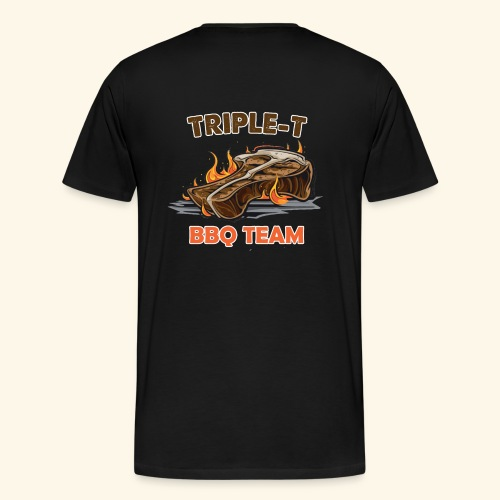 Triple-T BBQ Team - Mannen Premium T-shirt