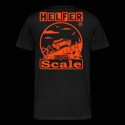 superScale® - HELFER - Männer Premium T-Shirt