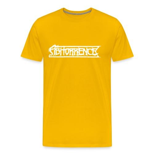abhorrencei - Miesten premium t-paita