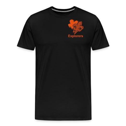 Explorers Klein - Mannen Premium T-shirt