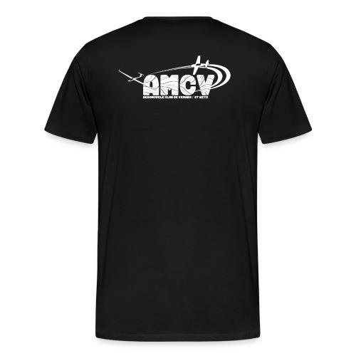AMCV Blanc - T-shirt Premium Homme