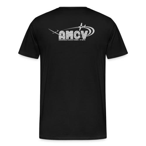 AMCV Gris Clair - T-shirt Premium Homme