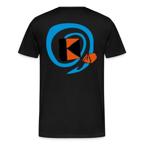 kzllogo fuer tshirts - Männer Premium T-Shirt