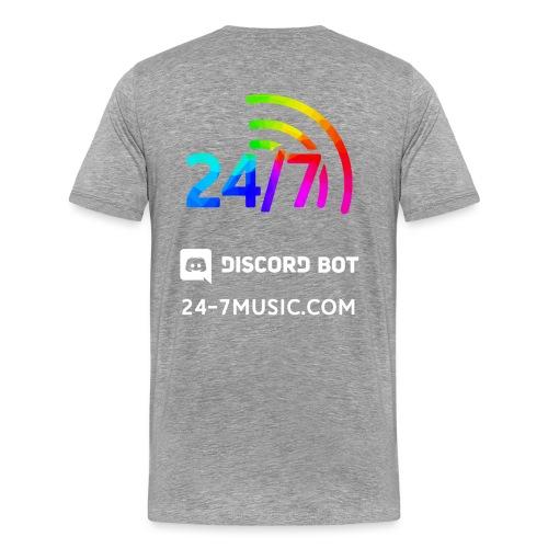 basic back design - Men's Premium T-Shirt
