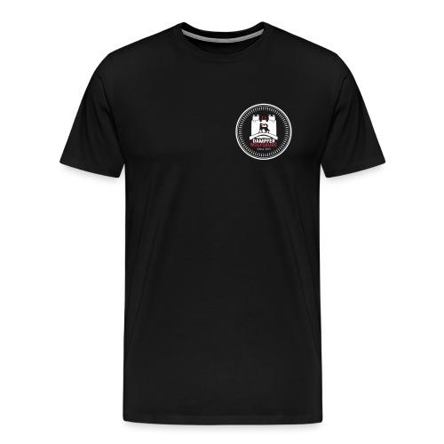 rz_logo_badge_auf_schwarz - Männer Premium T-Shirt