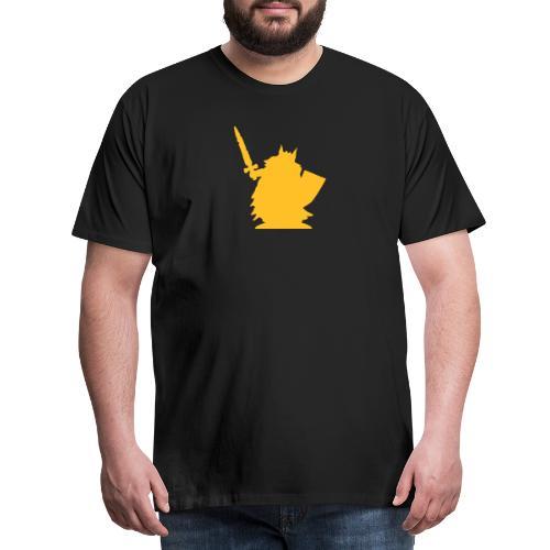 Zeichnung_logotext - Männer Premium T-Shirt