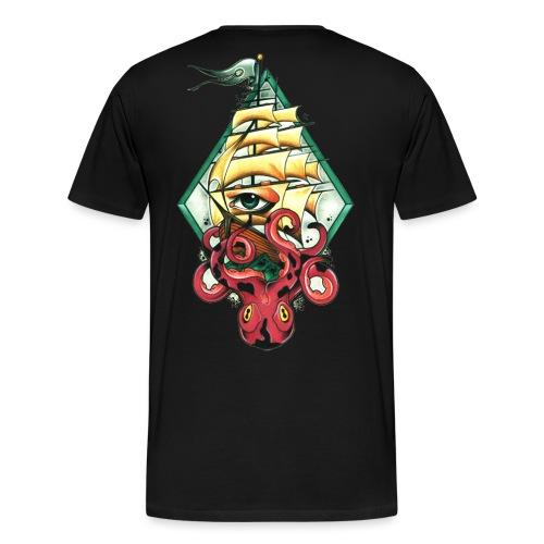 nadelwelt transparent logo - Männer Premium T-Shirt