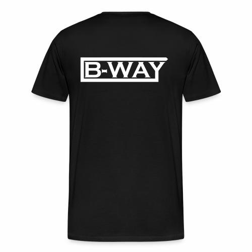 B WAY Vektor - Men's Premium T-Shirt