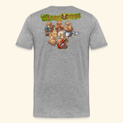 Tshirt groupe complet (dos) - T-shirt Premium Homme