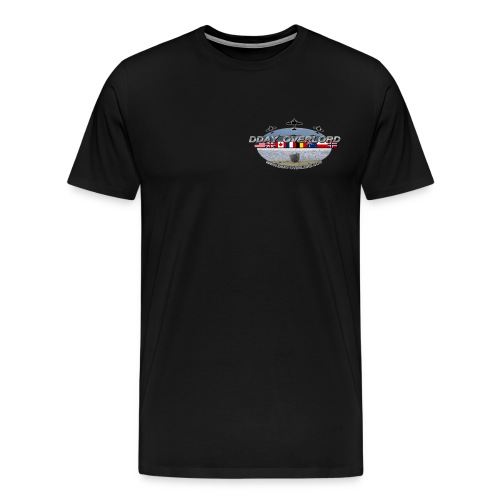 t shirt dday overlord noir png final png - T-shirt Premium Homme