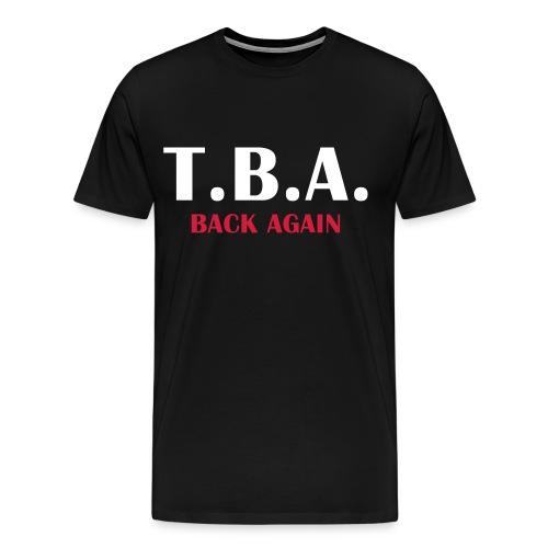 tba 2017 of vorn - Männer Premium T-Shirt