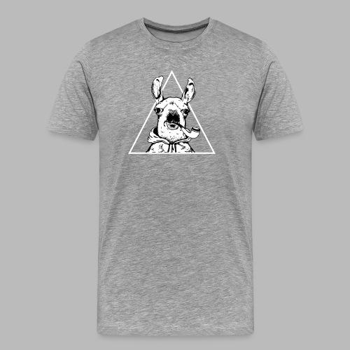 LamaTekeningWit - Men's Premium T-Shirt