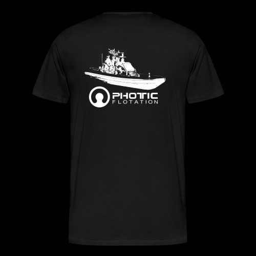 Photic Echo 29 - Premium T-skjorte for menn
