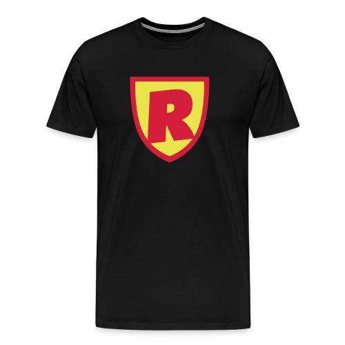 Superhjälte från RoJteatern - Premium-T-shirt herr