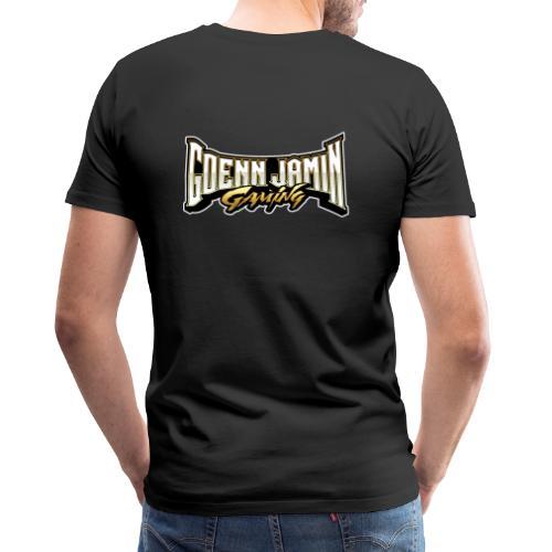 GoennjaminGaming Schriftzug Back Print Collection - Männer Premium T-Shirt