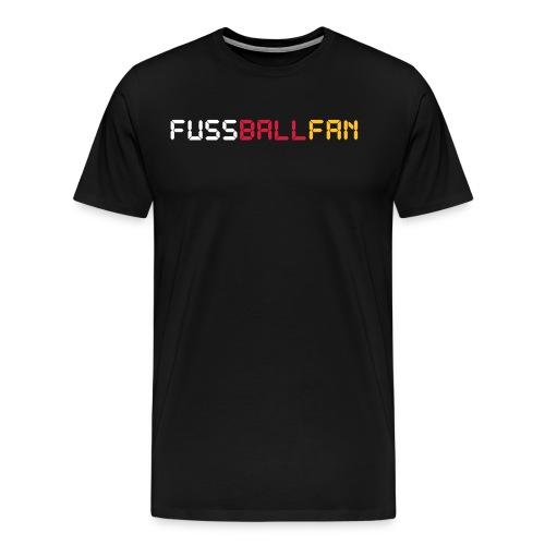 Fussballfan - Männer Premium T-Shirt