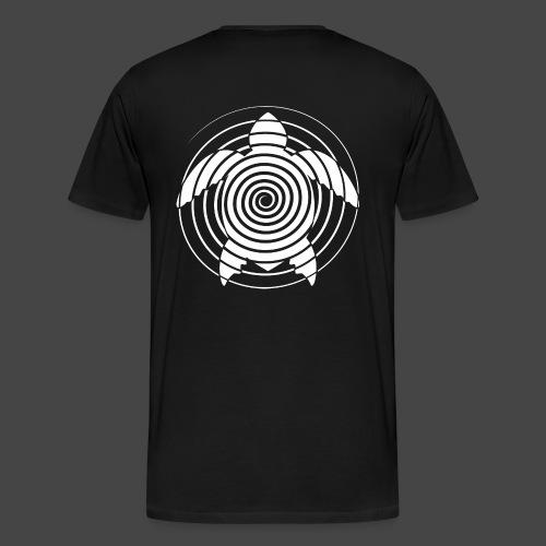 tartaruga a spirale 23 - Maglietta Premium da uomo