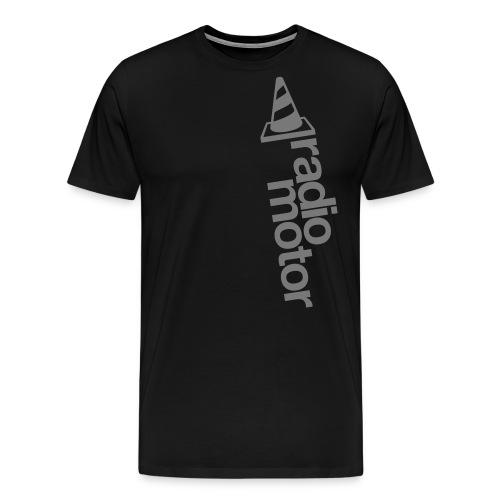 logo-radiomotor - Premium T-skjorte for menn