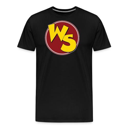 wsvectorlogoshirt220mm - Men's Premium T-Shirt